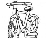 Coloriage et dessins gratuit Vélo gratuit à imprimer