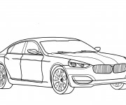 Coloriage BMW 1