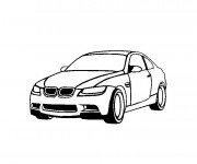 Coloriage BMW 12