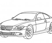 Coloriage BMW 13