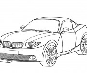 Coloriage BMW 14