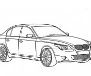 Coloriage BMW 3