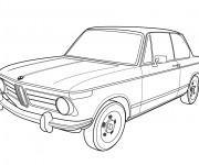 Coloriage BMW 6