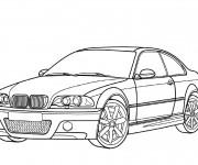 Coloriage et dessins gratuit BMW couleur à imprimer
