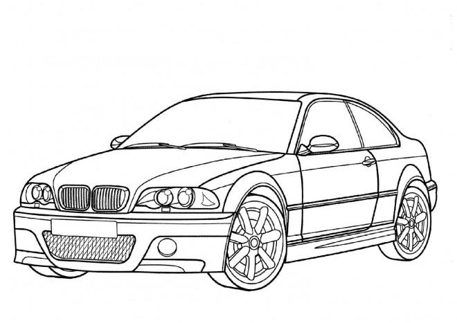 Coloriage et dessins gratuits BMW couleur à imprimer