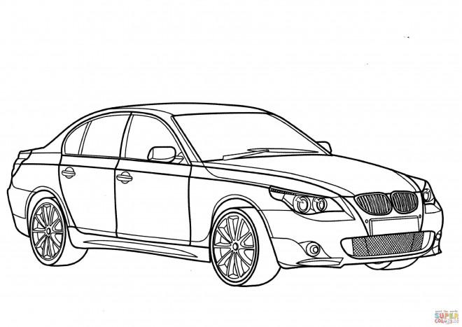 Coloriage et dessins gratuits BMW E30 à imprimer
