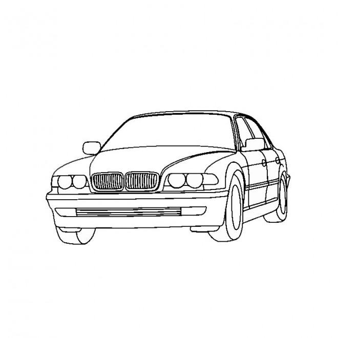 Coloriage et dessins gratuits BMW e30 facile à imprimer