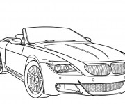 Coloriage BMW e30 m3