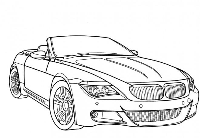Coloriage et dessins gratuits BMW e30 m3 à imprimer