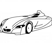 Coloriage BMW I10 facile