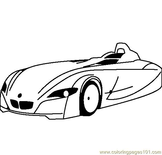 Coloriage et dessins gratuits BMW I10 facile à imprimer