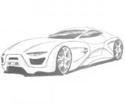 Coloriage et dessins gratuit BMW i8 au crayon à imprimer