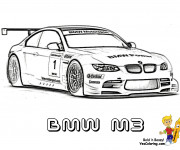 Coloriage BMW M3