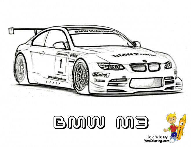 coloriage bmw m3 dessin gratuit imprimer. Black Bedroom Furniture Sets. Home Design Ideas
