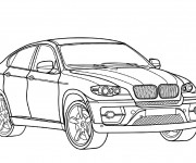 Coloriage BMW X6