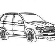Coloriage BMW X6 en ligne
