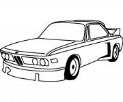 Coloriage Maison de voiture BMW e30