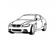 Coloriage et dessins gratuit Voiture BMW M3 à imprimer