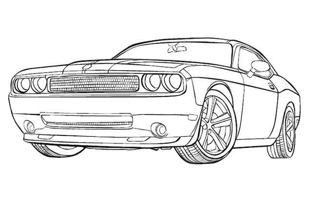 coloriage voiture ford mustang gt dessin gratuit imprimer. Black Bedroom Furniture Sets. Home Design Ideas