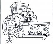 Coloriage et dessins gratuit Bob le bricoleur dessin animé à imprimer