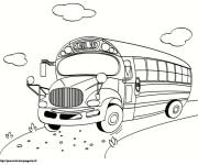 Coloriage Autobus 11