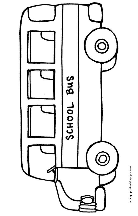 Coloriage et dessins gratuits Bus d'école à télécharger à imprimer