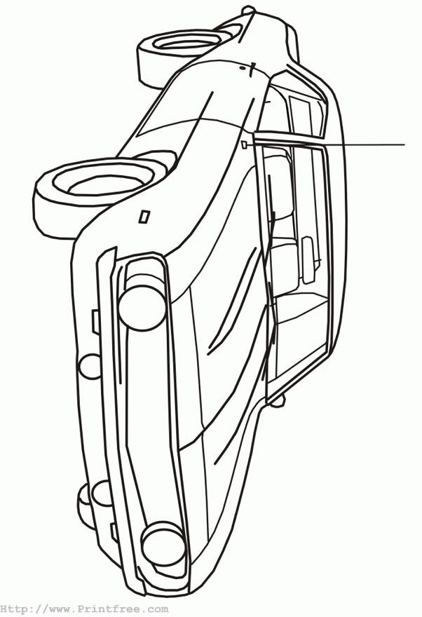 Coloriage et dessins gratuits Automobile Chevrolet Camaro modèle Z28 à imprimer