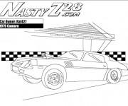 Coloriage et dessins gratuit Camaro 1979 rapide à imprimer