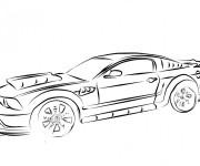Coloriage et dessins gratuit Camaro fantastique à imprimer