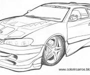 Coloriage Chevrolet Camaro