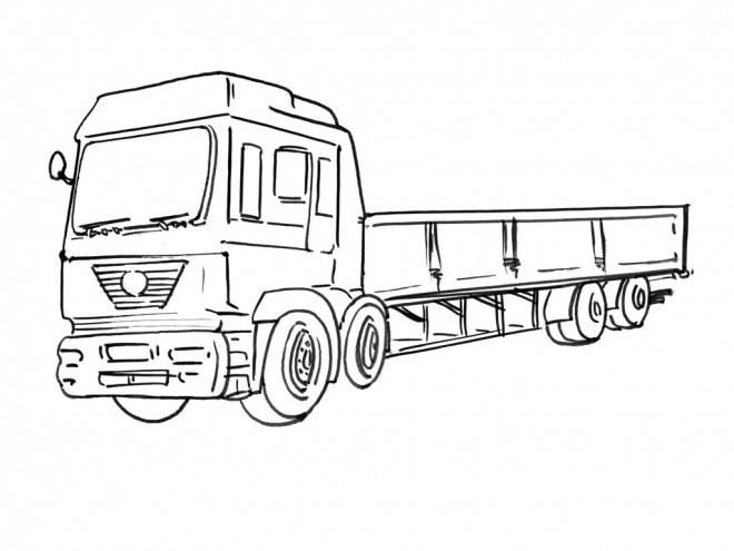 Coloriage Dessin Camion Scania Facile Dessin Gratuit A Imprimer