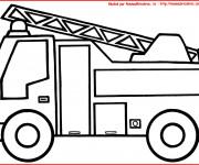 Coloriage Pompier 8