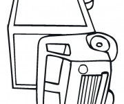 Coloriage Camion 65