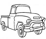 Coloriage et dessins gratuit Camionnette 14 à imprimer