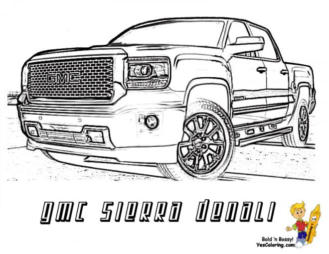 Coloriage et dessins gratuits Camionnette 19 à imprimer