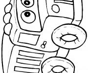 Coloriage et dessins gratuit Camionnette 20 à imprimer