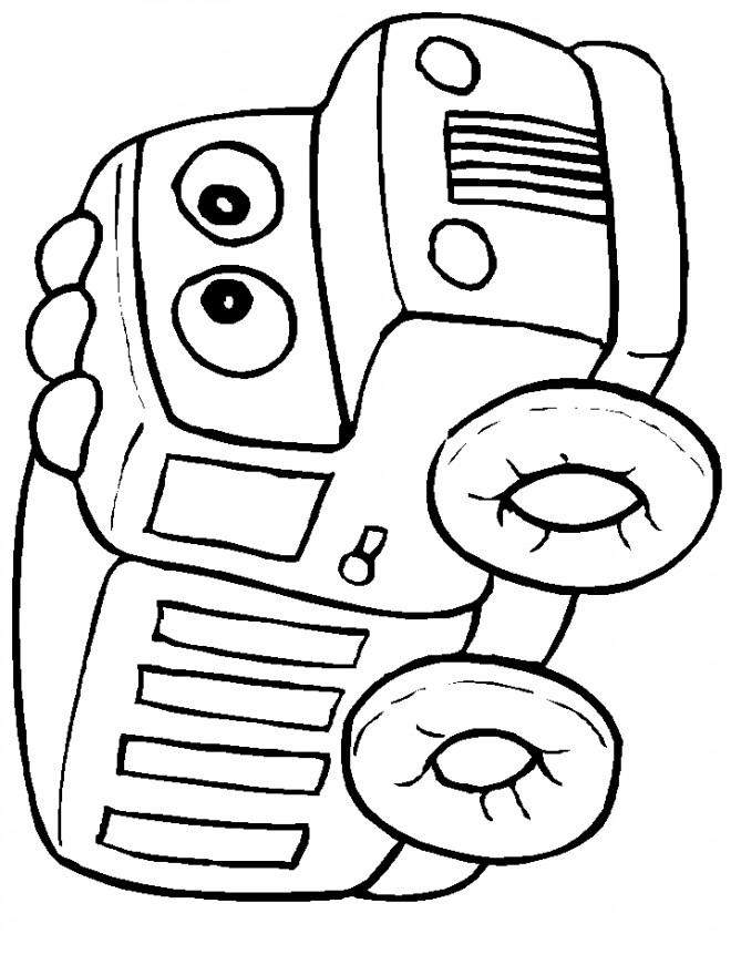 Coloriage et dessins gratuits Camionnette 20 à imprimer