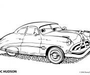 Coloriage et dessins gratuit Auto Doc Hudson à imprimer