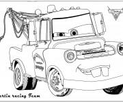 Coloriage Auto Martin de remorquage
