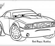 Coloriage Auto Rod dessin animé