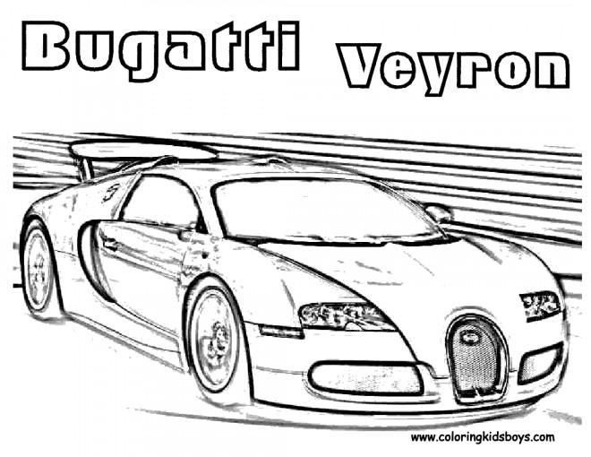 Coloriage automobile bugatti de luxe dessin gratuit imprimer - Coloriage de bugatti ...