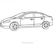 Coloriage et dessins gratuit Automobile maternelle à imprimer