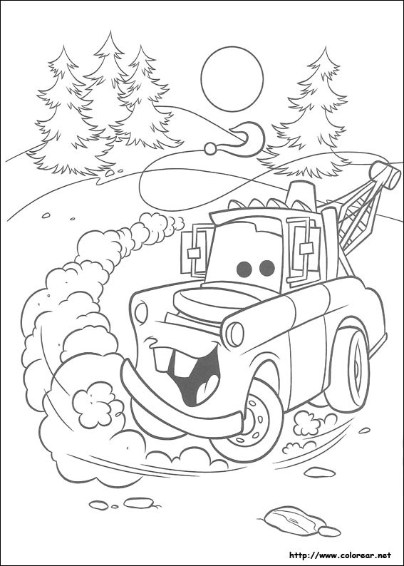 Coloriage et dessins gratuits Cars Martin à imprimer