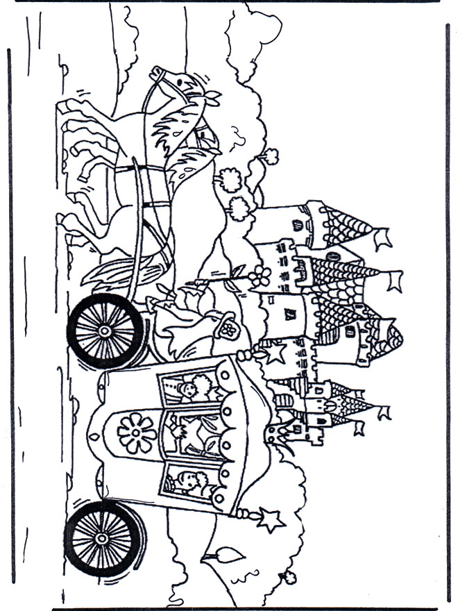 Coloriage carrosse dessin anim dessin gratuit imprimer - Image de dessin anime gratuit ...