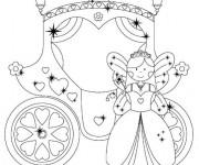 Coloriage et dessins gratuit Carrosse maternelle à imprimer