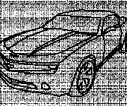 Coloriage et dessins gratuit Camaro dessiné par le crayon à imprimer