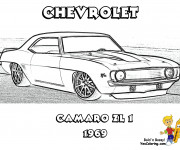 Coloriage Chevrolet