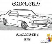 Coloriage et dessins gratuit Camaro ZL1 à imprimer