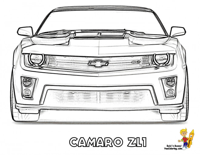 coloring pages car back view - photo#6