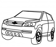 Coloriage Chevrolet 10
